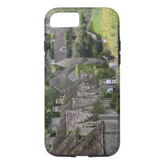 Coque iPhone 8/7 Cottages en pierre de Cotswold dans le village de