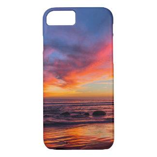 Coque iPhone 8/7 Coucher du soleil au-dessus du Pacifique de