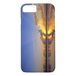 Coque iPhone 8/7 Coucher du soleil spectaculaire au-dessus de la
