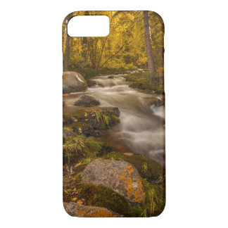 Coque iPhone 8/7 Couleurs d'automne sur la crique de Crestone