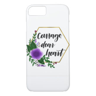 Coque iPhone 8/7 Courage, cher coeur