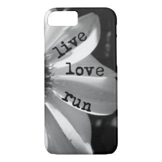 Coque iPhone 8/7 Course vivante d'amour par des conceptions de