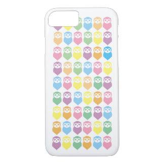 Coque iPhone 8/7 couverture de hiboux de l'iphone 7 de pomme