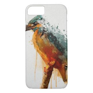 Coque iPhone 8/7 couverture de martin-pêcheur