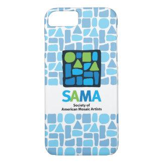Coque iPhone 8/7 Couverture de téléphone de SAMA - art de mosaïque