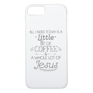 Coque iPhone 8/7 Couverture de téléphone portable de café et de