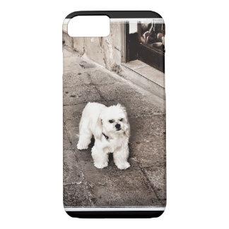 Coque iPhone 8/7 Couverture désagréable de téléphone de chien