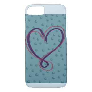 Coque iPhone 8/7 Couverture d'iphone d'amour de bulle