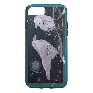Coque iPhone 8/7 Couverture d'iPhone de lune de Raven