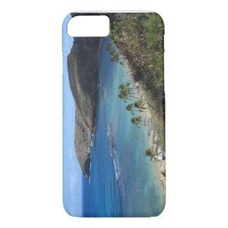 Coque iPhone 8/7 Couverture hawaïenne de portable de plage