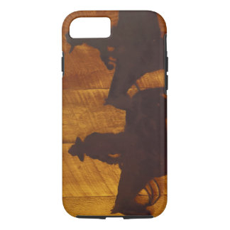 Coque iPhone 8/7 Cowboys des Etats-Unis, Montana, rivière de
