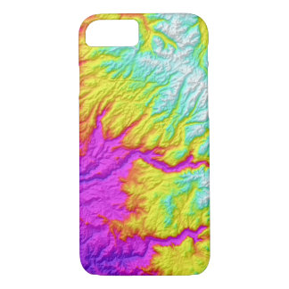 Coque iPhone 8/7 Cravate abstraite de la Californie de variations