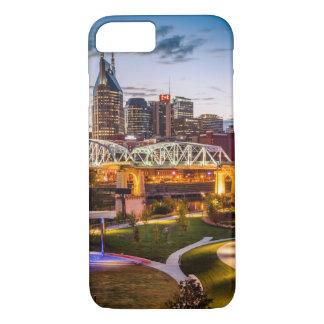 Coque iPhone 8/7 Crépuscule au-dessus de parc de Cumberland et du