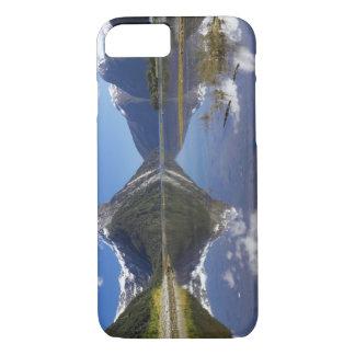 Coque iPhone 8/7 Crête de mitre, Milford Sound, ressortissant de