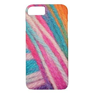 Coque iPhone 8/7 crochet coloré de fils