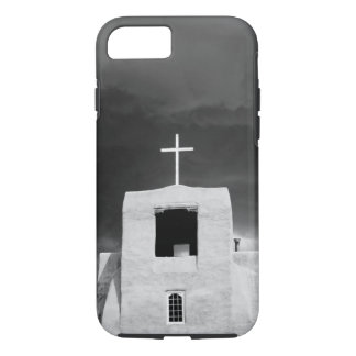 Coque iPhone 8/7 Croisez sur l'église la plus ancienne, San Miguel,
