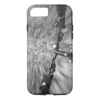 Coque iPhone 8/7 Croisière en bas d'une section de couleur chamois