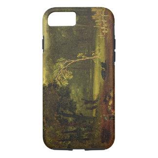 Coque iPhone 8/7 Croquis de nature en parc de Sion, 1819 (huile sur