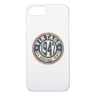 Coque iPhone 8/7 Cru 1947 toutes les pièces d'original