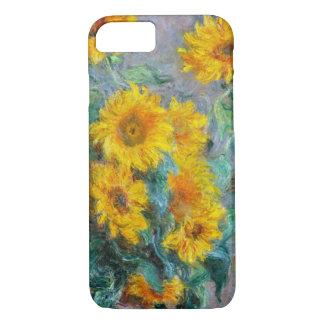 Coque iPhone 8/7 Cru de tournesols de Claude Monet floral