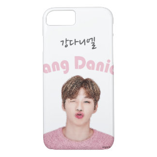 Coque iPhone 8/7 DANIEL Chu font face au phonecase de portrait pour