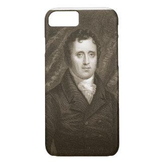 Coque iPhone 8/7 Daniel D. Tompkins (1774-1825) gravé par Thomas
