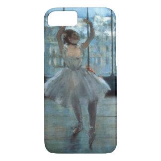 Coque iPhone 8/7 Danseur d'Edgar Degas | devant une fenêtre