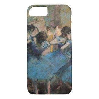 Coque iPhone 8/7 Danseurs d'Edgar Degas | dans le bleu, 1890