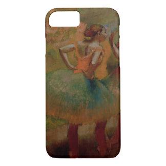 Coque iPhone 8/7 Danseurs d'Edgar Degas | utilisant des jupes de