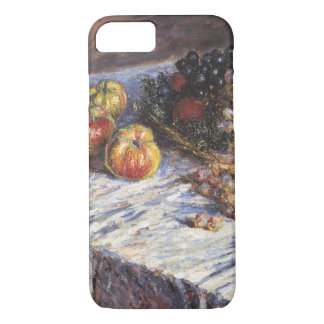 Coque iPhone 8/7 De Claude Monet toujours la vie avec des pommes et