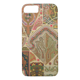 Coque iPhone 8/7 Décoration indienne, plat XIX 'd'Orna polychrome