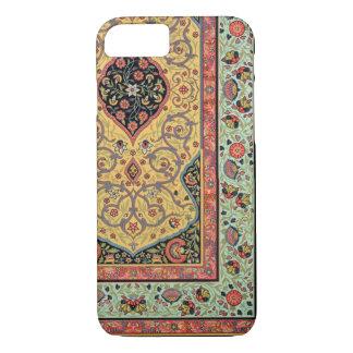 Coque iPhone 8/7 Décoration persane, plat XXV 'd'Orn polychrome