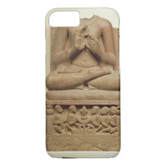 Coque iPhone 8/7 Découpage de Bouddha dans l'attitude de prêcher un