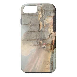 Coque iPhone 8/7 Destruction de la flotte française dans des routes