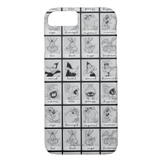 Coque iPhone 8/7 Diagramme LOONEY d'émotion de caractère de TUNES™