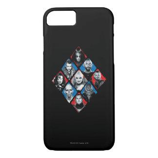 Coque iPhone 8/7 Diamant Checkered du groupe de travail X du