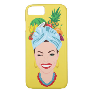 Coque iPhone 8/7 Diva tropicale