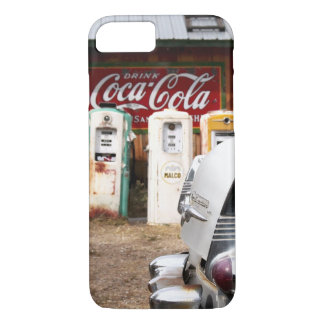Coque iPhone 8/7 Dixon, Nouveau Mexique, Etats-Unis. Voiture