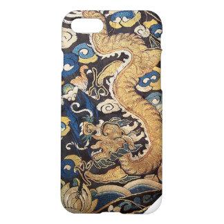 Coque iPhone 8/7 Dragon bleu impérial