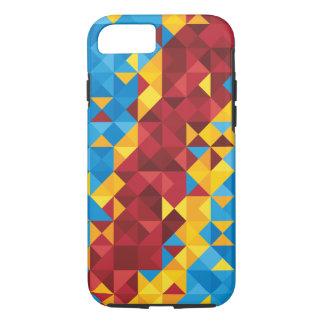 Coque iPhone 8/7 Drapeau abstrait du Congo, République démocratique