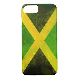 Coque iPhone 8/7 drapeau de la Jamaïque - racines de reggae