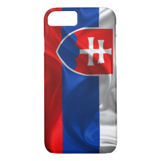 Coque iPhone 8/7 Drapeau de la Slovaquie