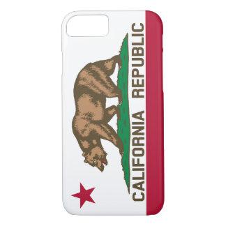 Coque iPhone 8/7 Drapeau d'ours de République de la Californie