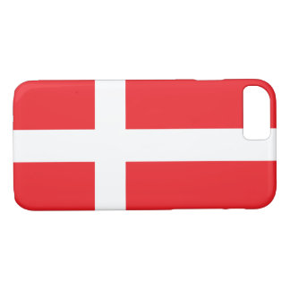 COQUE iPhone 8/7 DRAPEAU DU DANEMARK