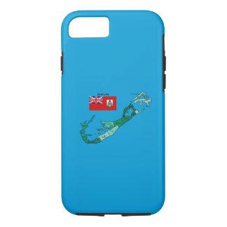 Coque iPhone 8/7 Drapeau et carte des Bermudes