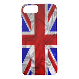Coque iPhone 8/7 Drapeau froissé d'Union Jack