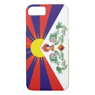 Coque iPhone 8/7 Drapeau tibétain