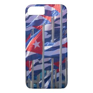 Coque iPhone 8/7 Drapeaux cubains, La Havane, Cuba