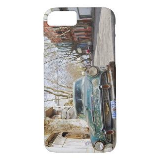 Coque iPhone 8/7 D'une vieille la couleur rouillée et floconneuse