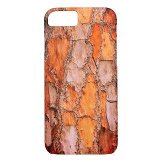 Coque iPhone 8/7 Écorce de pin orange de puzzle de la Floride
